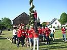 Maibaum aufstellen 2009_2