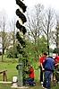 Maibaum aufstellen