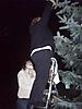 Weihnachtsbaum aufstellen 2008_10