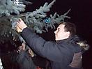 Weihnachtsbaum aufstellen 2008_11