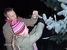 Weihnachtsbaum aufstellen 2008_52